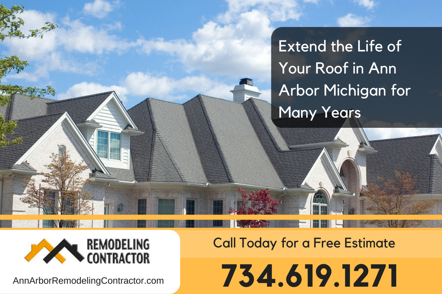 Extend the Life of Your Roof in Ann Arbor Michigan for Many Years